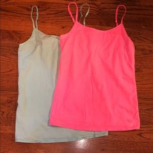 Justice pink and blue cami